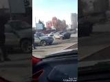 Последствия ДТП у Фрунзенского моста (21.03.2017)