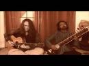 Guitar and Sitar playing Raga Bihag and Raga Charukeshi