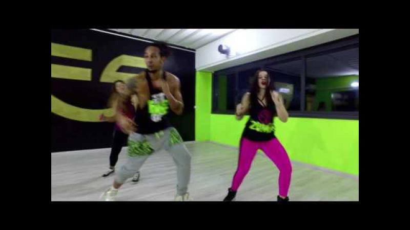 ANNDY CAICEDO UN BESO BY EDWARD SANCHEZ DRD zumba fitness coreografia