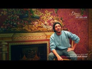 Osama Mimi Farag - invitation for Dance Weekend in Warsaw 2017