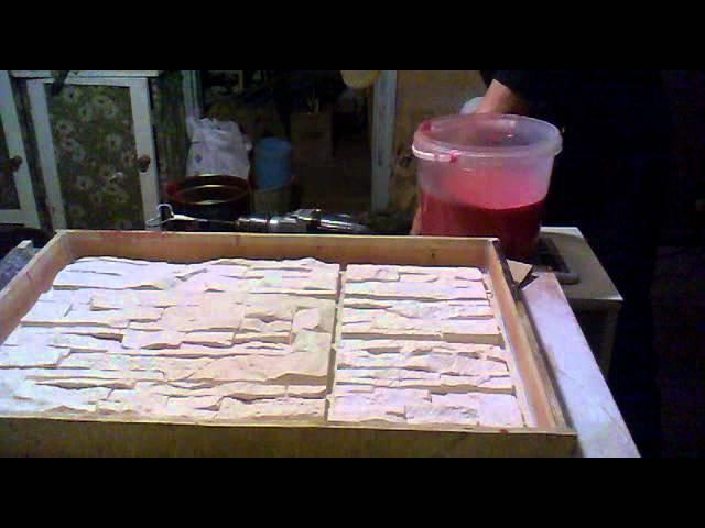 изготовление силиконовых форм для литья из гипса