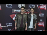 Darren and Chuck Criss on the red carpet at the iHeartAwards  March 5, 2017