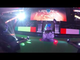 DotaPit Live-report. Про каких-то людей и холод на Арене