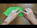 Поделки из бумаги оригами коробочка.Crafts made of paper. Оrigami box
