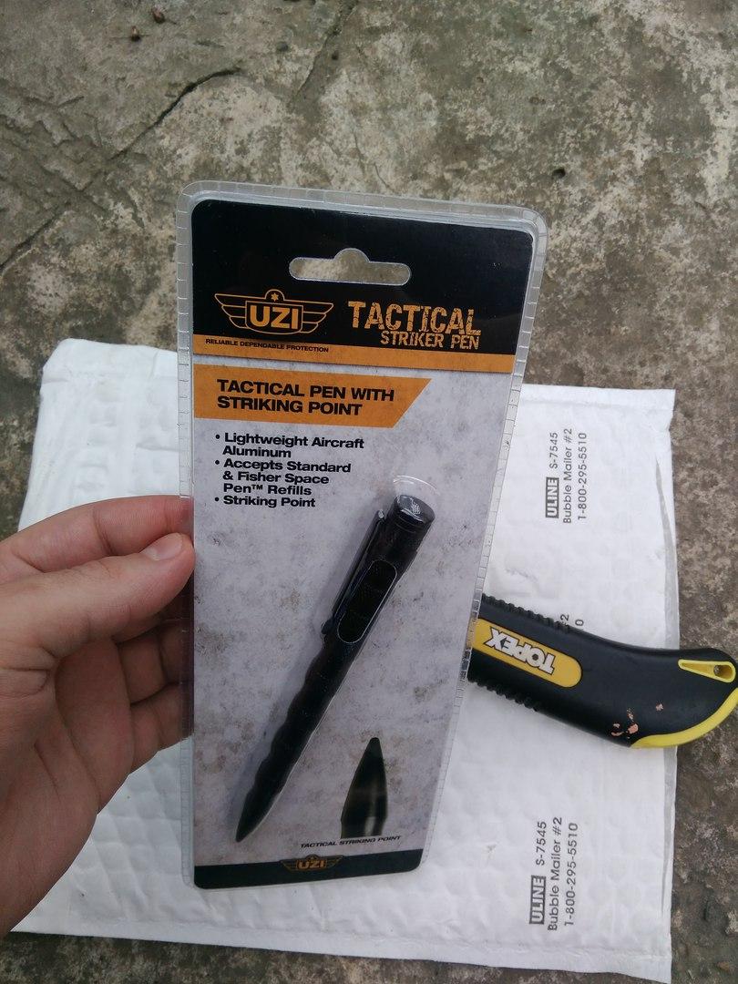 Другие - США: Тактическая ручка от UZI или стержень на миллион долларов!