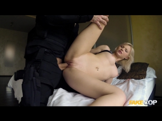 FakeCop/FakeHub Zazie Skymm - Blonde Takes a Facial from Cop Swallow,All Sex,New Porn 2017