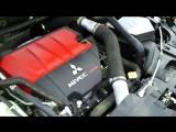 Чёрный Mitsubishi Lancer Evo X