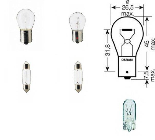 Лампа накаливания, фонарь освещения номерного знака для AUDI R8 Spyder