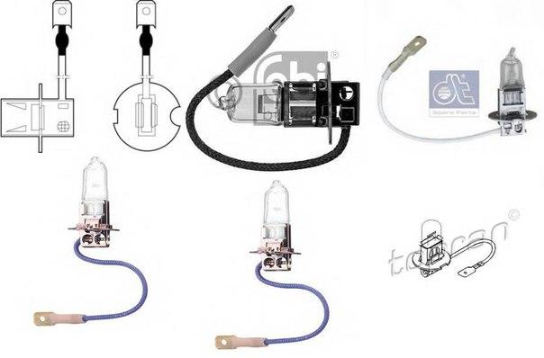 Лампа накаливания, основная фара; Лампа накаливания, противотуманная фара; Лампа накаливания; Лампа накаливания, основная фара для AUDI V8 (44_, 4C_)