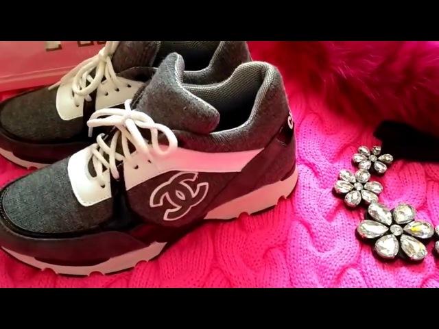 Крутяцкие кроссовки Шанельки Cool sneakers Chanel