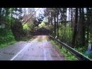 Автокатастрофа на горной дороге