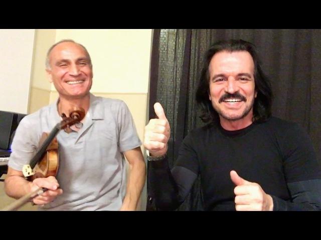 YANNI: Master Class with Samvel Yervinyan on violin