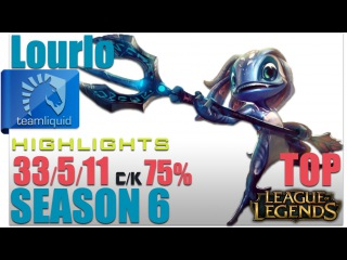 TL Lourlo | Fizz Top vs Yasuo | Pro Replays Highlights #104