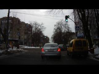 Нарушение правил дорожного движения в Черкассах