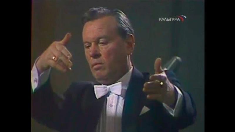Evgeny Svetlanov conducts Rossini William Tell Overture - video 1981