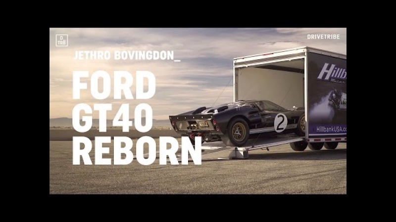 Ford GT40 reborn – driving the Superformance MkII GT40