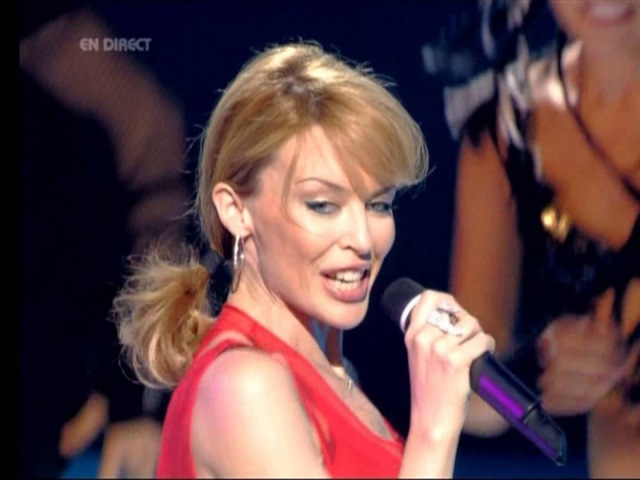 Kylie Minogue - Red Blooded Woman (Live NRJ Awards 24-01-2004)