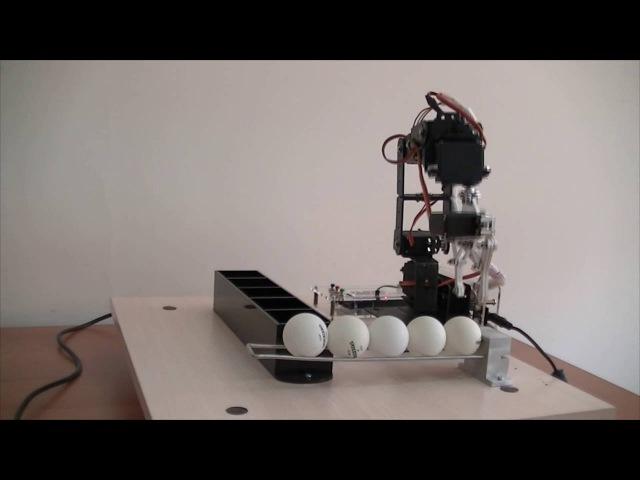 Рука манипулятор создана на базе Arduino Mega