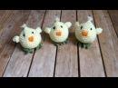 Poussin Crochet Amigurumi / Pollitos tejidos a crochet Amigurumi