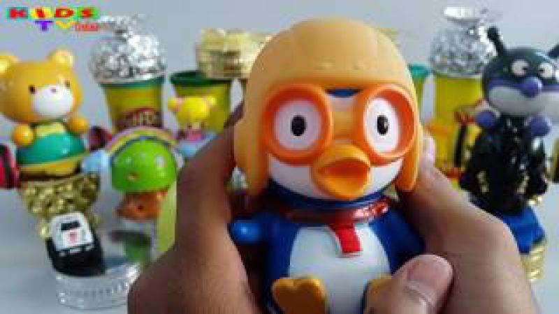 Play Doh Surprise Eggs | Play-Doh Surprise Balls | Egg Surprise Toys For Kids Videos.