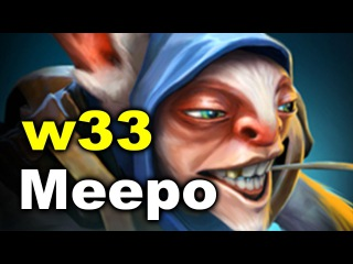 DC vs Execration - w33 Meepo - ESL One Genting Dota 2