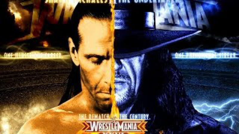 Shawn Michaels vs Undertaker- WrestleMania 26- Highlights- [HD]