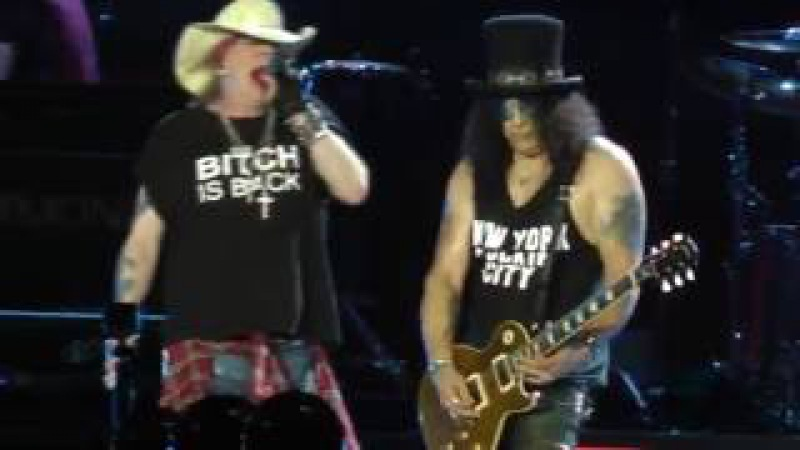 Guns N' Roses - Birthday/Solo/Sweet Child O' Mine (MetLife Stadium) Nj 7.23.16