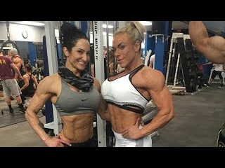 Collection Muscle women  FBB  Female Bodybuilding Girl Muscles female biceps