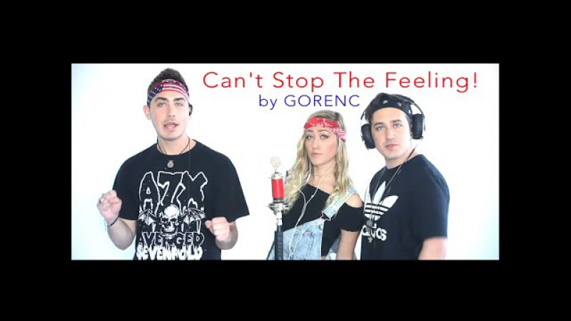 Can't Stop The Feeling! - Justin Timberlake [COVER BY THE GORENC SIBLINGS]