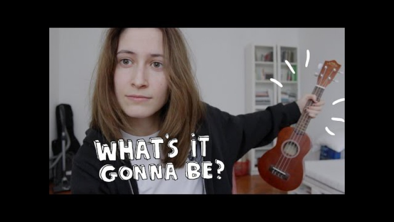 What's It Gonna Be ukulele cover