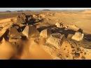 Drone flyover of Meroe Pyramids of Sudan