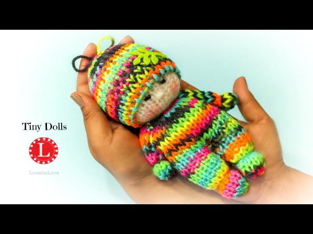 Loom Knitting Tiny Dolls Toys Round Loom Loomahat Telar Tricotin نول