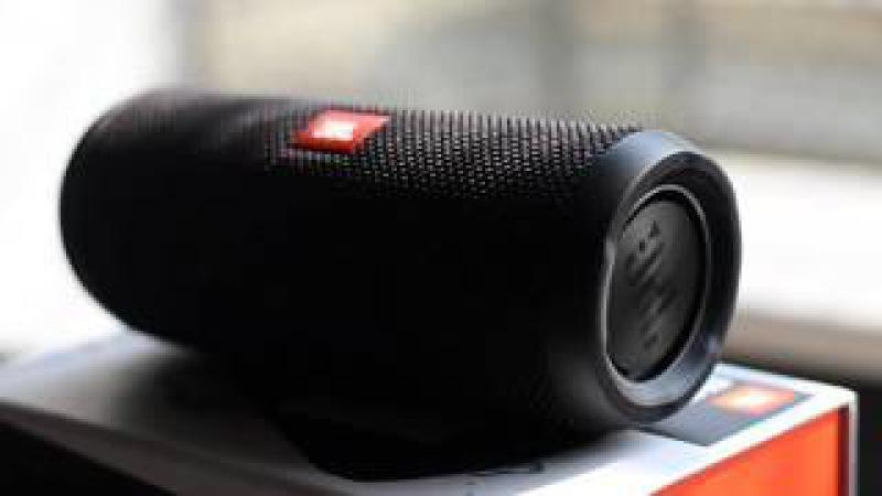 JBL Flip3 - Portable Bluetooth Speaker | Black | Test Shot with Bass Track