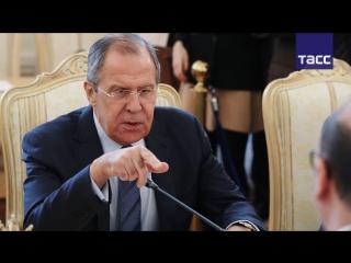 Сергей Лавров отмечает двойные стандарты в реакции Запада на митинги в Москве