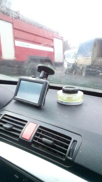 На трассе в Башкирии «лоб в лоб» столкнулись «ГАЗели»