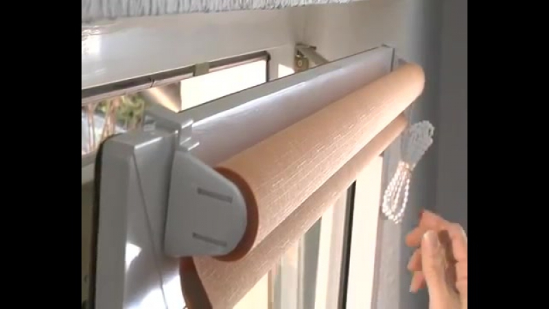 Gardinia - montaż rolet mini