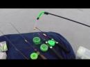 Зимние удочки для блеснения окуня судака щуки на блесны и балансиры