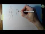 Как быстрее научиться рисовать - Скетчи