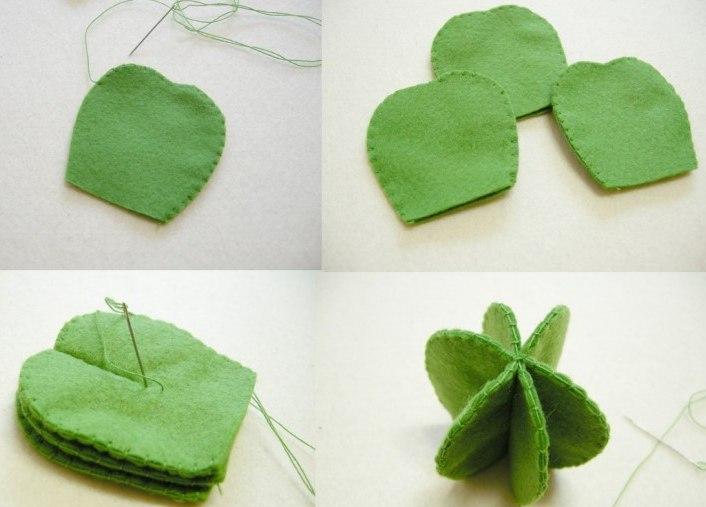 как сделать игольницу кактус