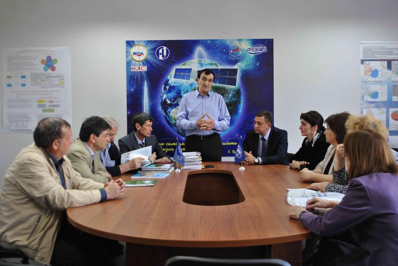 Встреча участников экспедиции в Майкопском госуниверситете