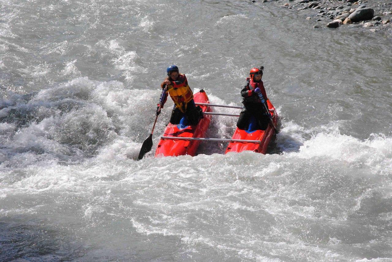 Сплав на реке Белой