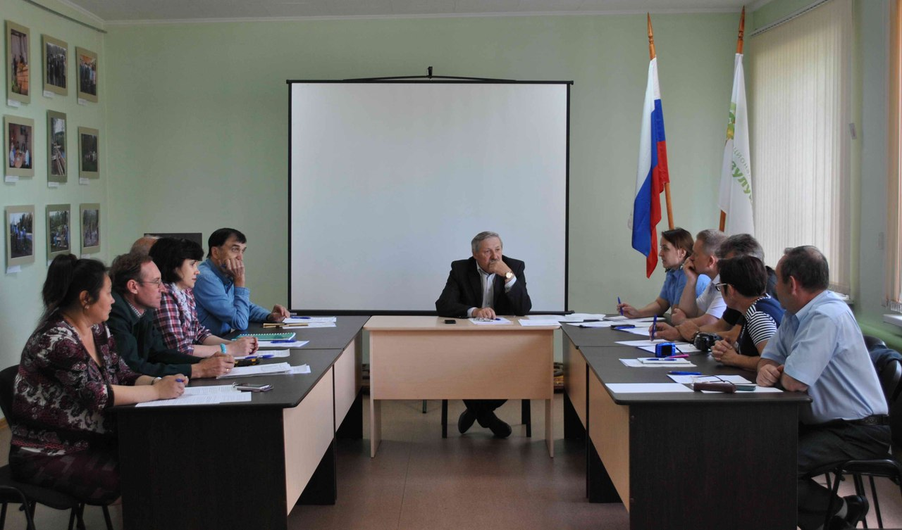 Заседание научно-технического совета НП «Бузулукский бор»