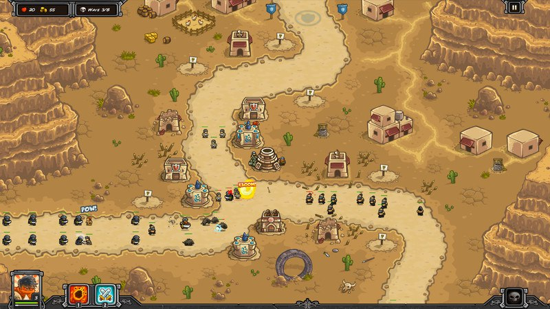 Kingdom Rush Frontiers (2016) PC - Скриншот 3