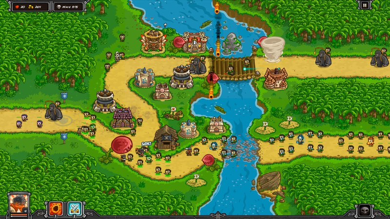Kingdom Rush Frontiers (2016) PC - Скриншот 2