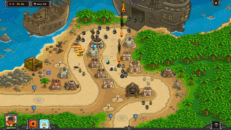 Kingdom Rush Frontiers (2016) PC - Скриншот 1