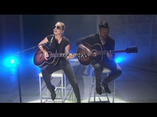 Lady Gaga - Joanne. Live at Japanese News