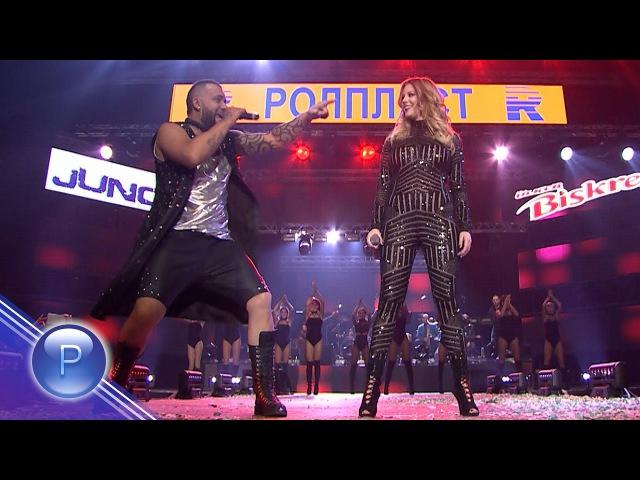 EMILIA ft. DJ TSETSI LUDATA GLAVA-CALIFORNIA/Емилия ft. DJ Цеци Лудата Глава-California, live 2016