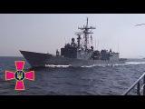 Польський фрегат Генерал Тадеуш Костюшко з борту фрегату Гетьман Сагайдачни...