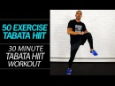Millionaire Hoy - 30 Minute Rapid Fat Burning Tabata HIIT Workout (50 Exercises No Equipment Home Workout)