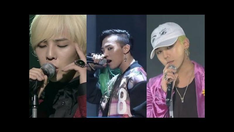 빅뱅의 10년 BIGBANG GD EVOLUTION 데뷔-현재 무대변천사 (빅뱅 지드래곤) 2006-2016
